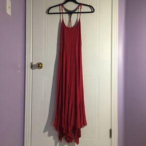 Le Chateau ankle-length dress
